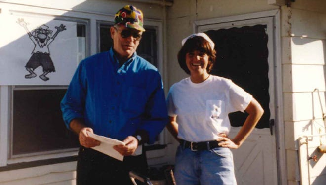 George Thompson and Karen Francati