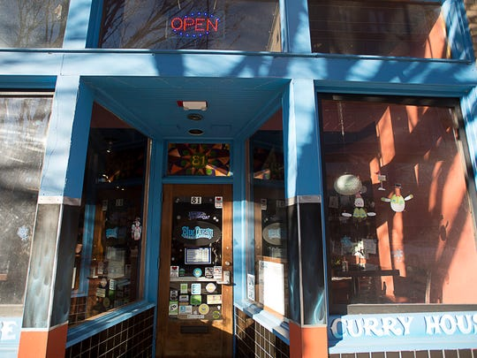 Blue Dream Curry House on Patton Avenue uses local
