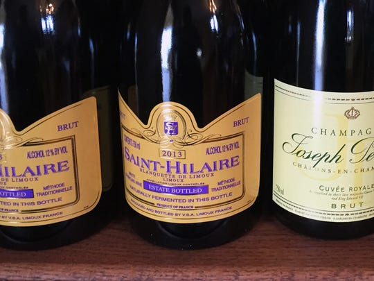 Saint-Hilaire Brut, available at Vino Villa in Greenwood.