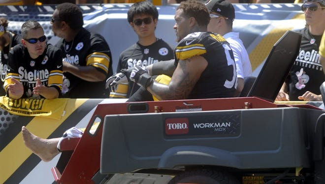 Steelers center Maurkice Pouncey is one of the latest stars to get injured in a preseason game.