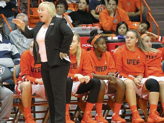UTEP women's basketball