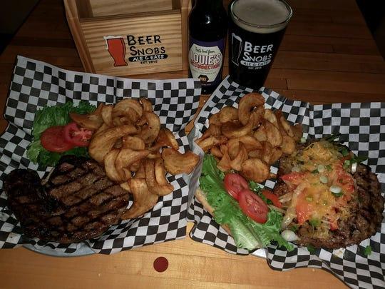 Beer Snobs' 8-ounce Ribeye Sandwich