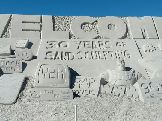 Fort Myers Beach is hosting the American Sand Sculpting Championship for the 30th year.