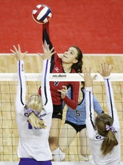 Newman Catholic senior Rylie Vaughn was named the Marawood Conference's volleyball player of the year.