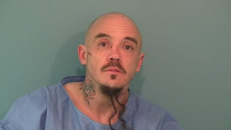 David Michael Coons, 38, of Independence, was sentenced to seven years and five months in prison for stabbing a man in the neck and shoulder.