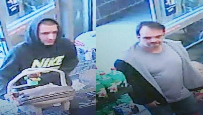 York Area Regional Police are looking to identify these two men.