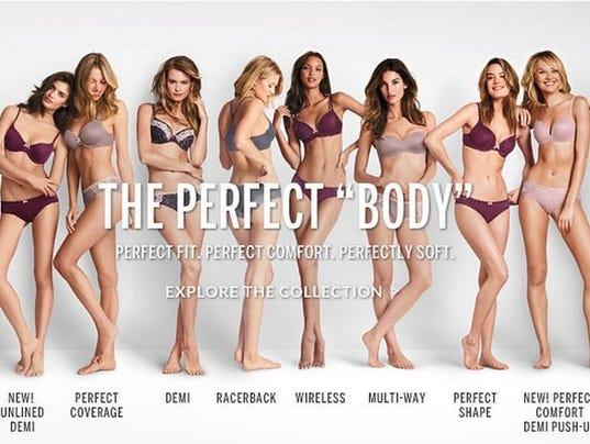 Victoria S Secret Perfect Body Campaign Sparks Backlash