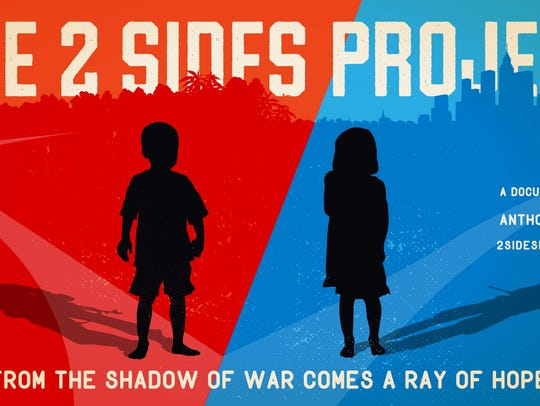 """The 2 Sides Project"" film poster"