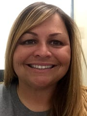 Audubon softball coach Erin Small