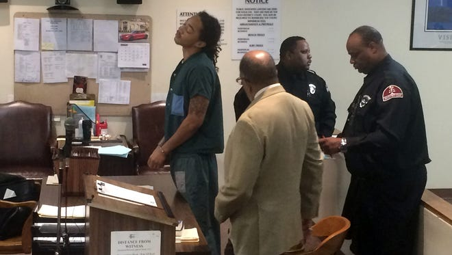 Jayru Campbell is sentenced to probation today in 36th District Court.
