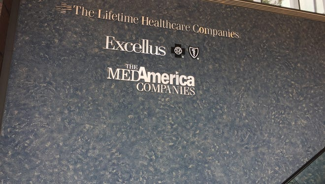 Inside the Excellus building on Court Street. The major data breach at Excellus is one of several affecting health-care companies across the country.