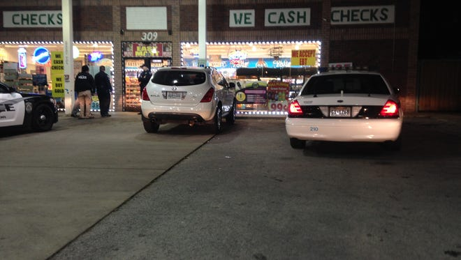 Jackson police responded to a robbery at the Easy Mart on Tuesday night.