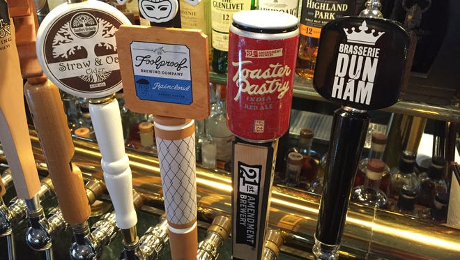 """The year in beer was """"style-bending,"""" says columnist Jeff Baker."""