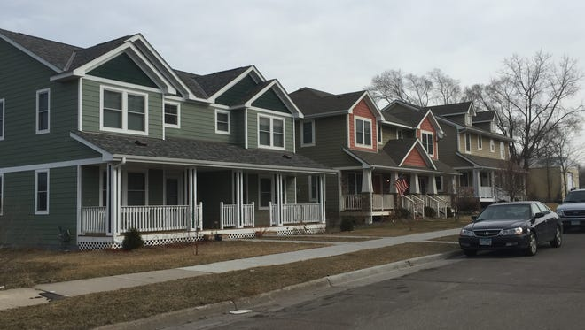 This St. Paul, Minn., redevelopment project is an example of what Greater Green Bay Habitat for Humanity intends to build at the corner of East Walnut and Baird streets.