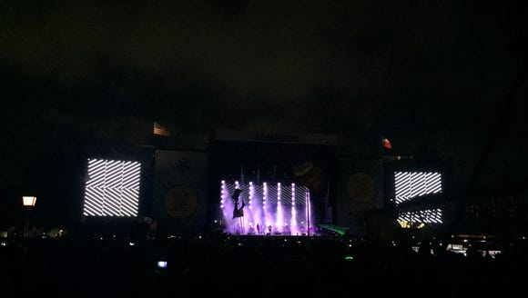 Radiohead performs at weekend two of the Austin City