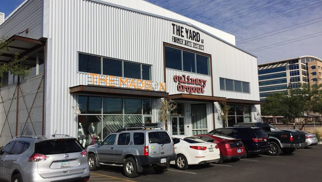 The Yard, anchored by Culinary Dropout, will expand into downtown GIlbert, with some new elements that differ from the downtown Tempe location, which is shown here.