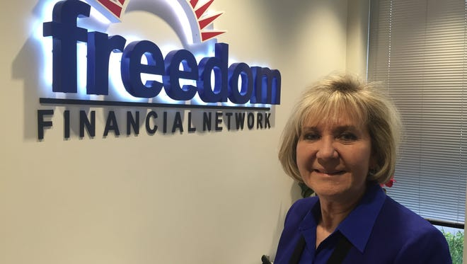 Linda Luman oversees human resources for Freedom Financial in Tempe.