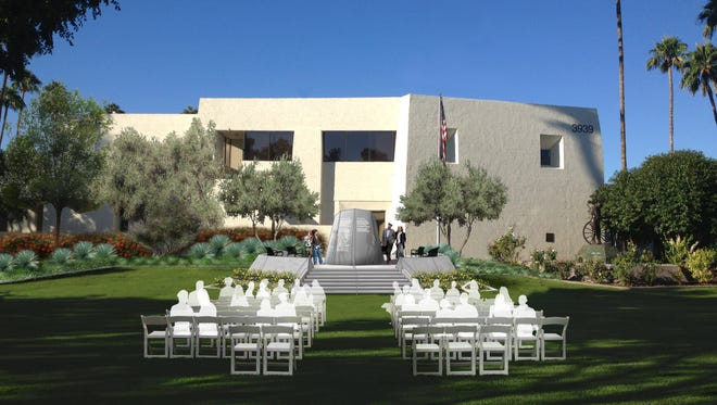 The Scottsdale Memorial for the Fallen is planned just northeast of City Hall, though its planners need to raise $90,000.