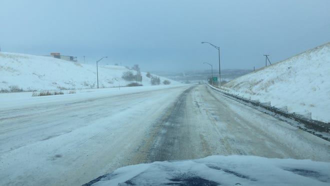Emergency travel only is advised in Missoula and Lewis and Clark counties after a snowstorm caused difficult driving conditions in the Missoula and Helena areas.