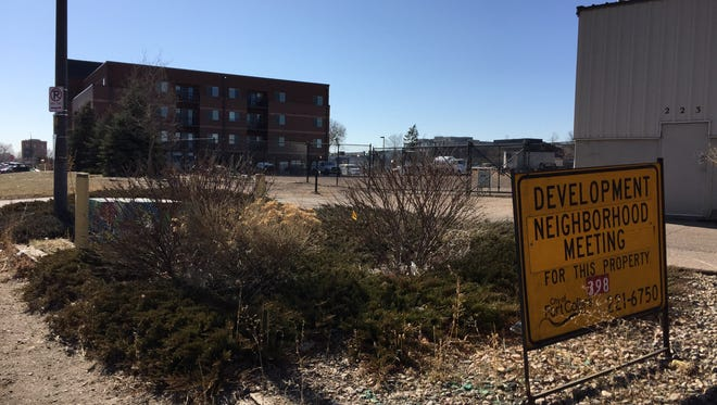 Illinois-based CA Ventures has an option to buy 2 acres at Willow and Pine streets for a new apartment project. The land is just north of Mill House apartments and Ginger and Baker at the corner of Linden and Willow streets.