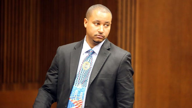 State Sen. Virgil Smith, a Detroit Democrat, pleaded guilty last month to a felony count of malicious destruction of personal property of $20,000 or more and admitted shooting his ex-wife's 2015 Mercedes-Benz on May 10, 2015.