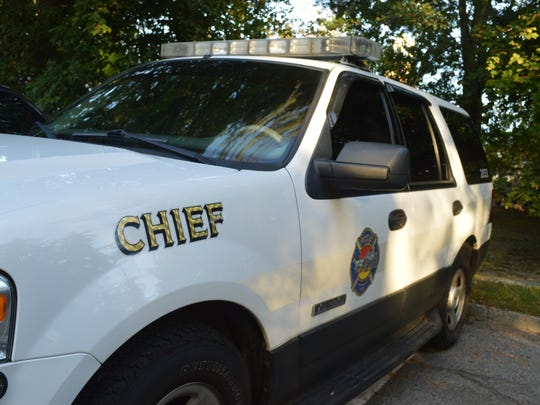 Former Fire Chief Michael Garcia turned in the keys to his chief's car after he was confronted with irregularities in the books of the Briarcliff Manor Fire Council.