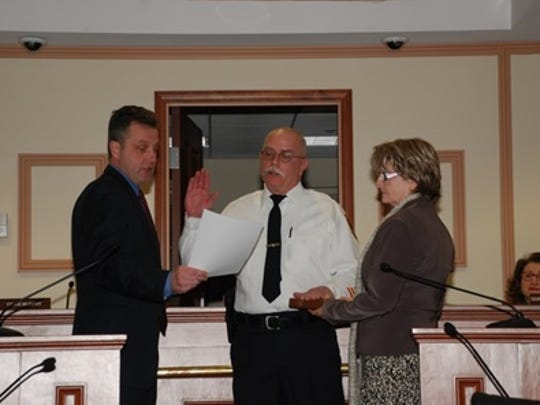 Michael Kilker was promoted to Captain of Operations with the Metuchen Police Department.