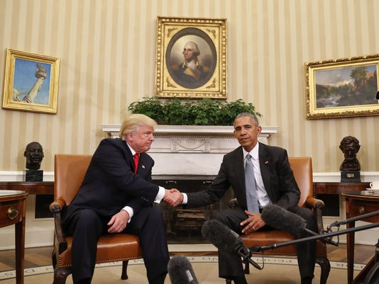 Trump acting less imperially than Obama