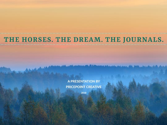 "One of her most recent products is a video presentation on Matthew Midgett and his Nogal journals entitled ""The Horses. The Dream. The Journals."""