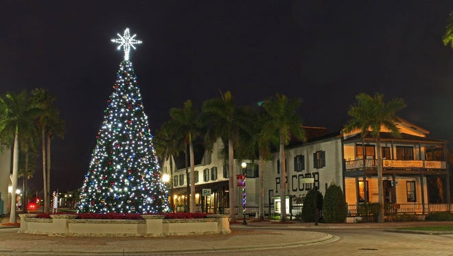 The Christmas Tree lighting ceremony is after the parade.