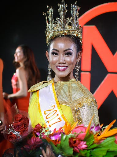 Winner of the Miss World Guam 2017, contestant number