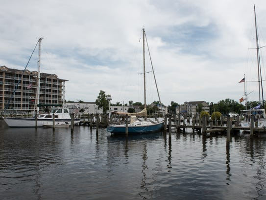 A view of the Salisbury Marina on Wednesday, June 22,
