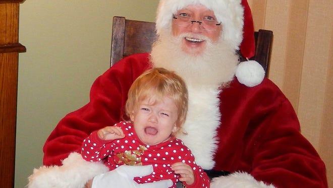 Parker is not a fan of Santa.