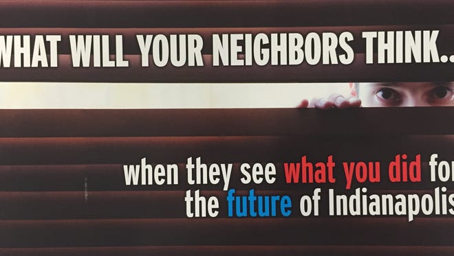Some Indianapolis residents received this mailer just days before the Nov. 3 election.
