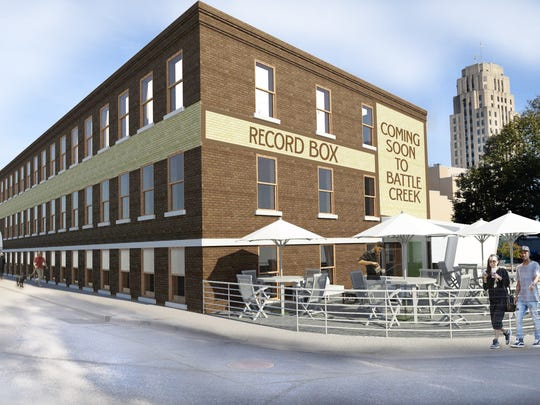 Restore (269) will be rebranding the 15 Carlyle St. building as the Record Box, a reference to the building being built for the Record Printing and Box Company.