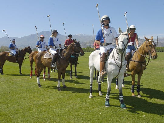 Two polo matches are scheduled for Sunday, March 29,