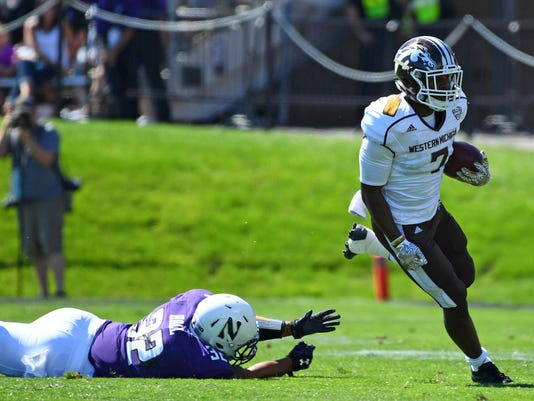 NCAA Football: Western Michigan at Northwestern