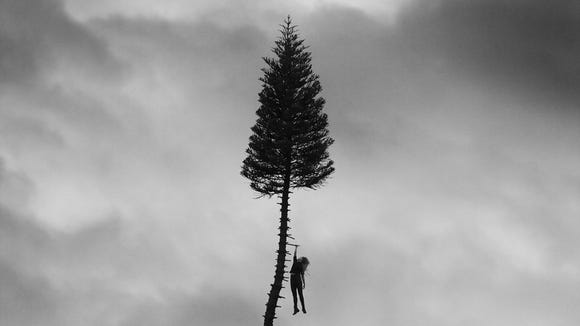 """""""A Black Mile to the Surface"""" by Manchester Orchestra."""