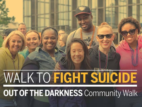 Montgomery's Out of the Darkness Walk takes place Saturday
