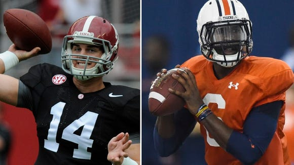 Jake Coker and Jeremy Johnson have taken unexpected