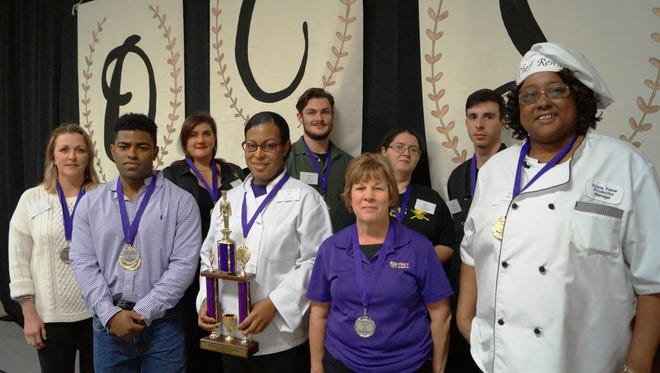The Opelousas Catholic Tasters' Dinner and Auction celebrated local chefs and their winning dishes.