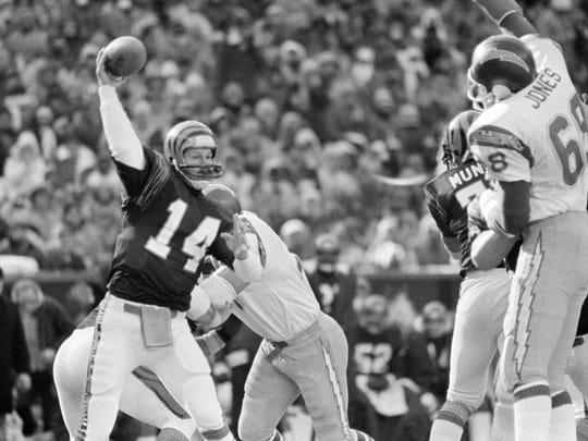 Cincinnati Bengals quarterback Ken Anderson.