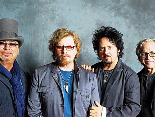 """Classic rock band Toto is best known for its hits """"Rosanna,"""" """"Africa"""" and """"Hold the Line."""" The band is set to perform with Yes today at Cohen Stadium."""