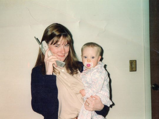 Abbey Nickel and her mom Melissa Larence Raines