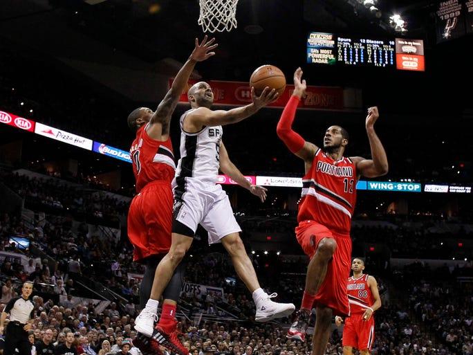 Game 5 in San Antonio Spurs