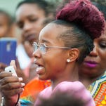 Camden community gathers to remember Gabrielle 'Gabby' Hill Carter