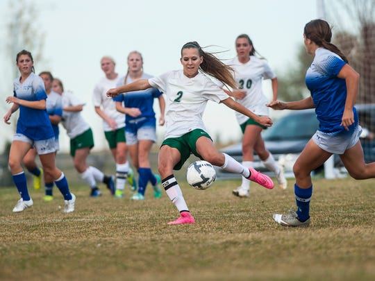 The CMR boys' and girls' soccer playoffs Thursday at