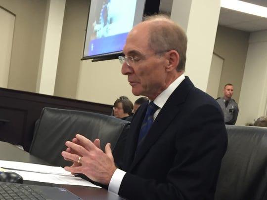 University of Kentucky President Eli Capilouto