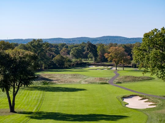 The Ridgewood Country Club golf course in Paramus, NJ