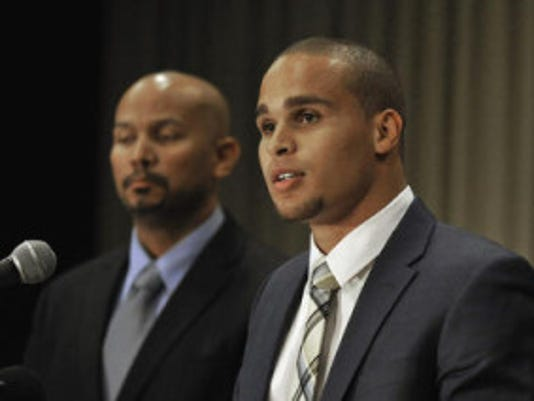 Former Northwestern quarterback Kain Colter is the face of a push for college football players to unionize, which could potentially forever change the landscape of amateur sports in America. (AP)